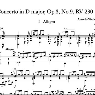 Tariq Harb's Music | Vivaldi: Violin Concerto in D Major, Op