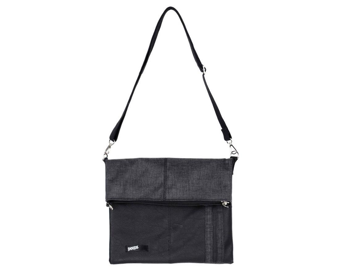 3e96b3282f33 Men Messenger Bag Black Cross Bag Crossbody College Bag School Bag ...