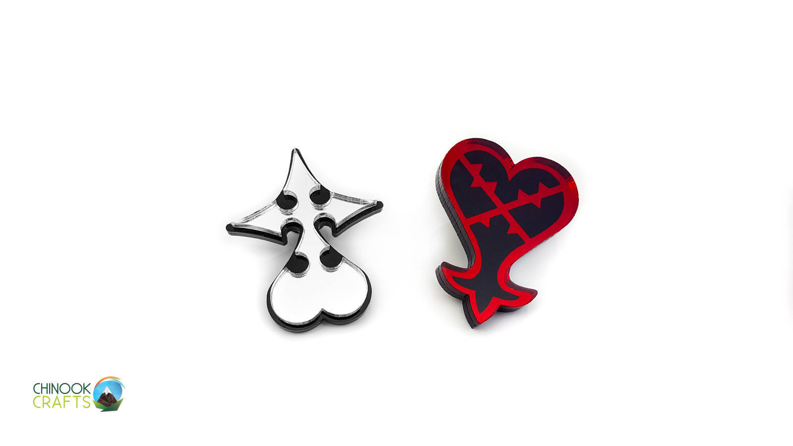 Nobody Pin From Kingdom Hearts Laser Cut On Storenvy