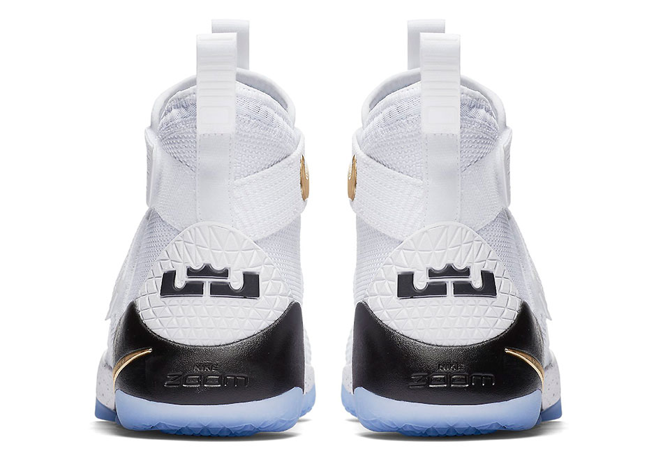 f67c673c017f2 NIKE LEBRON SOLDIER 11 SFG MEN 8.5-12 Color  White Black-Metallic ...