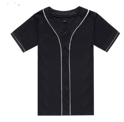 42f3b49a4b996d Baseball Jerseys (Black) · FaceGram · Online Store Powered by Storenvy