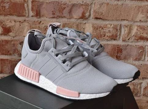 Fashion Nmd R1 Raw Gray Pink Women S Casual Shoes On Storenvy
