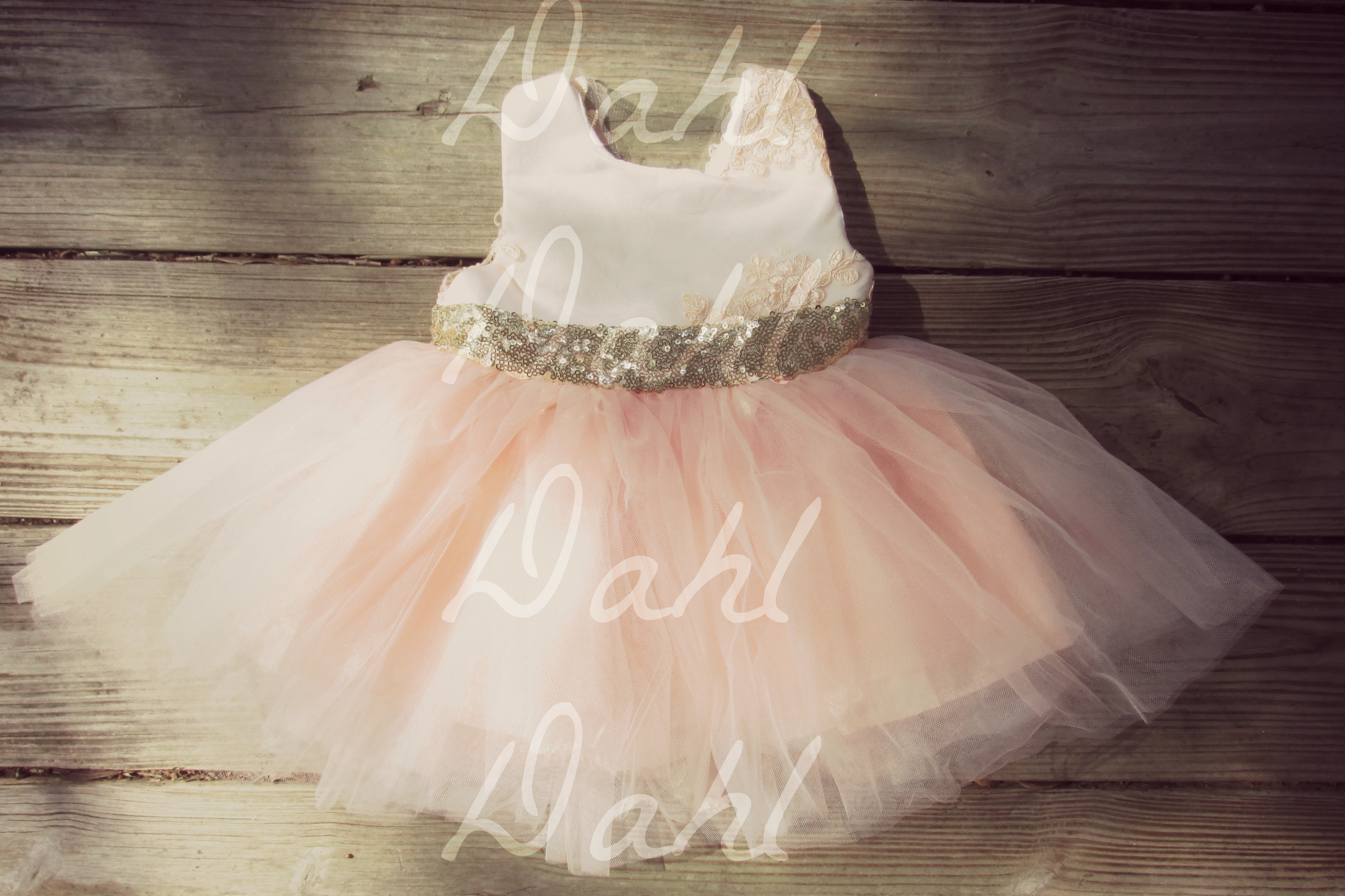 Baby girl pink sequin dress - Img_7311_small