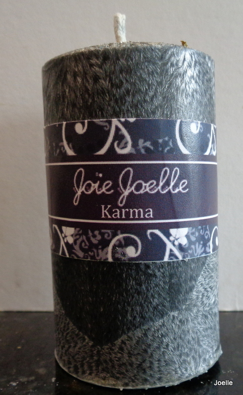 Karma Spell Pillar Candle 183 Joie Joelle Creations 183 Online