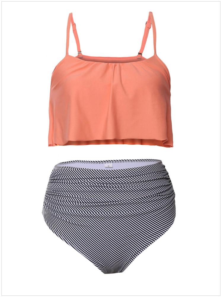 026fcaa845 Strap High Waist Padded Swimwear Bikini + free shipping on Storenvy