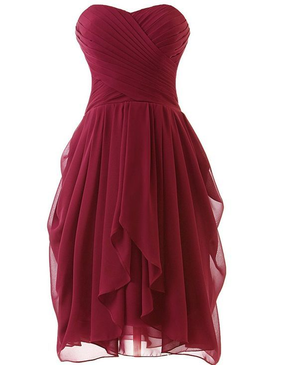 Red Homecoming Dressburgundy Cocktail Dressessexy Prom Dresspink