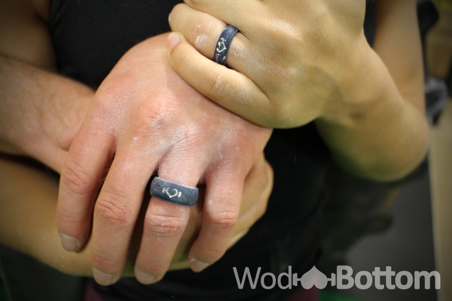 Navy Blue Silicone Wedding Ring For Women Perfect For Active