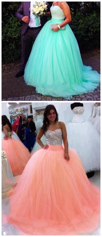 mint green prom dresses,ball gowns prom dress,quincenera dresses ...