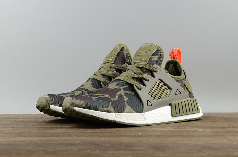 new style d9a0b 9b4ce Fashion NMD xr1 Boost Camo green running shoes from BELLDRESS