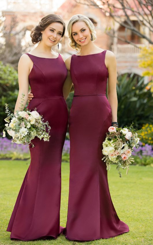 Gorgeous 2017 Bridesmaid Dress Maroon Long Bridesmaid Dress Mermaid Long Bridesmaid Dress Wedding Party Dress Sold By Prom Dress Shop On Storenvy,Summer Outdoor Wedding Summer Casual Wedding Dresses
