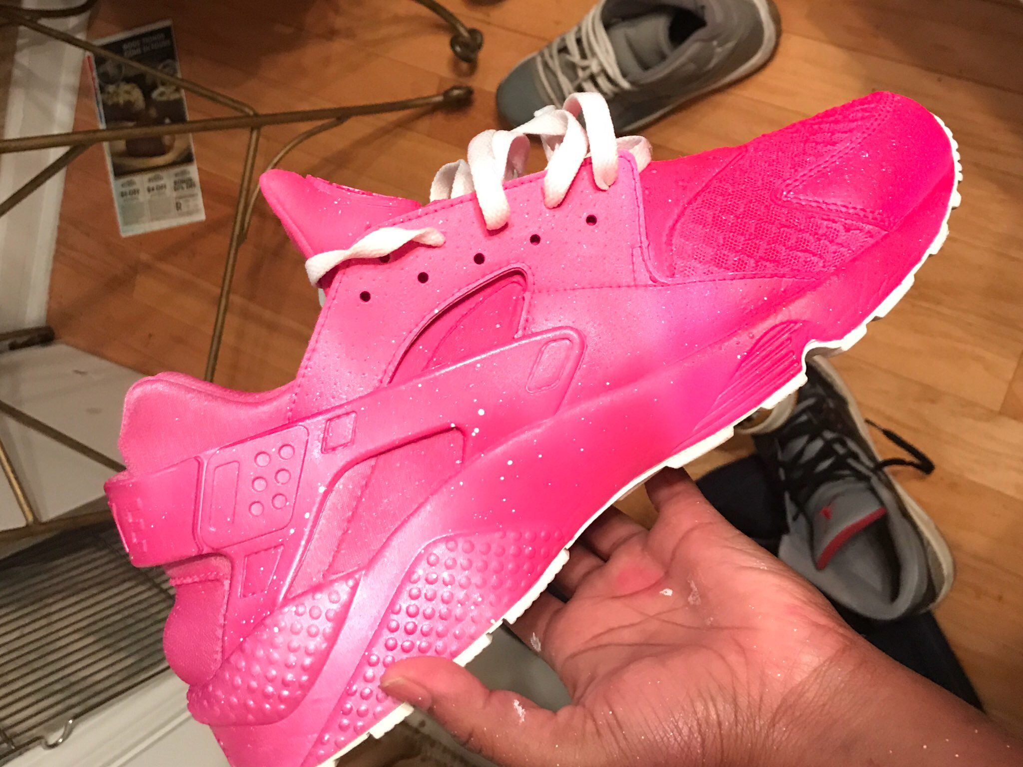 58937dc65f21 Pink Faded Custom Huaraches (shoe provided) on Storenvy