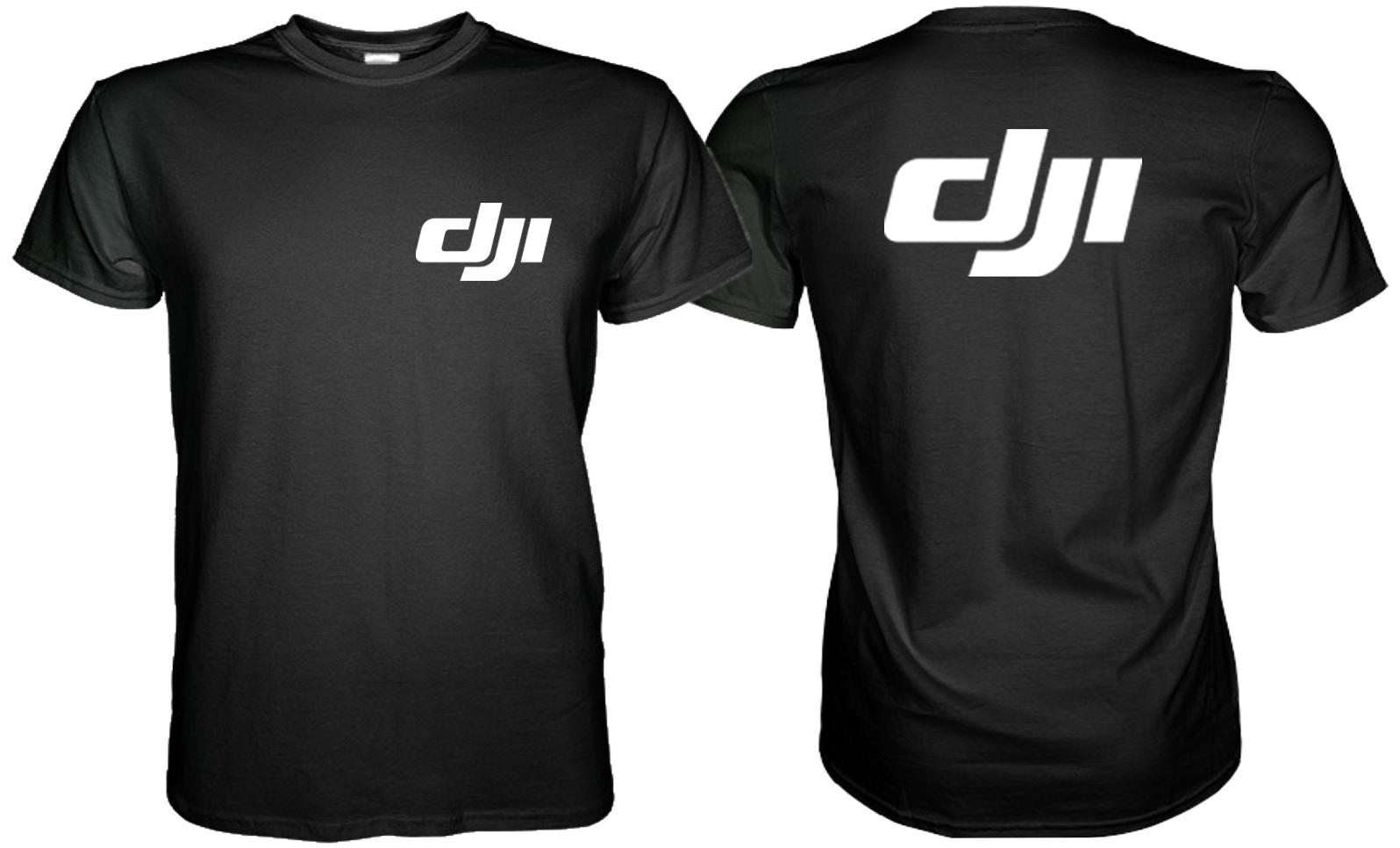 d271d7cec9f86 Dji Logo 2 Side Black TShirt S M L XL 2XL 3XL on Storenvy