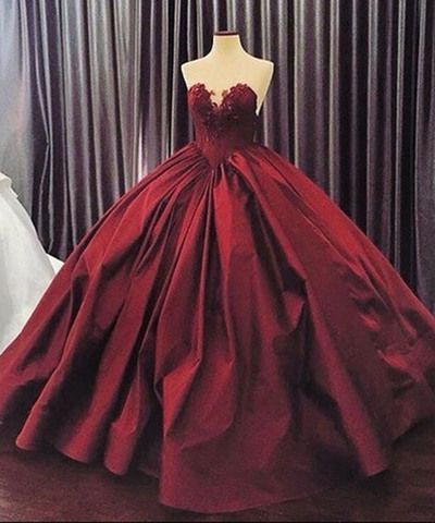 Sweetheart Lace A Line Ball Gown Dressesgradustion Dress For Teens