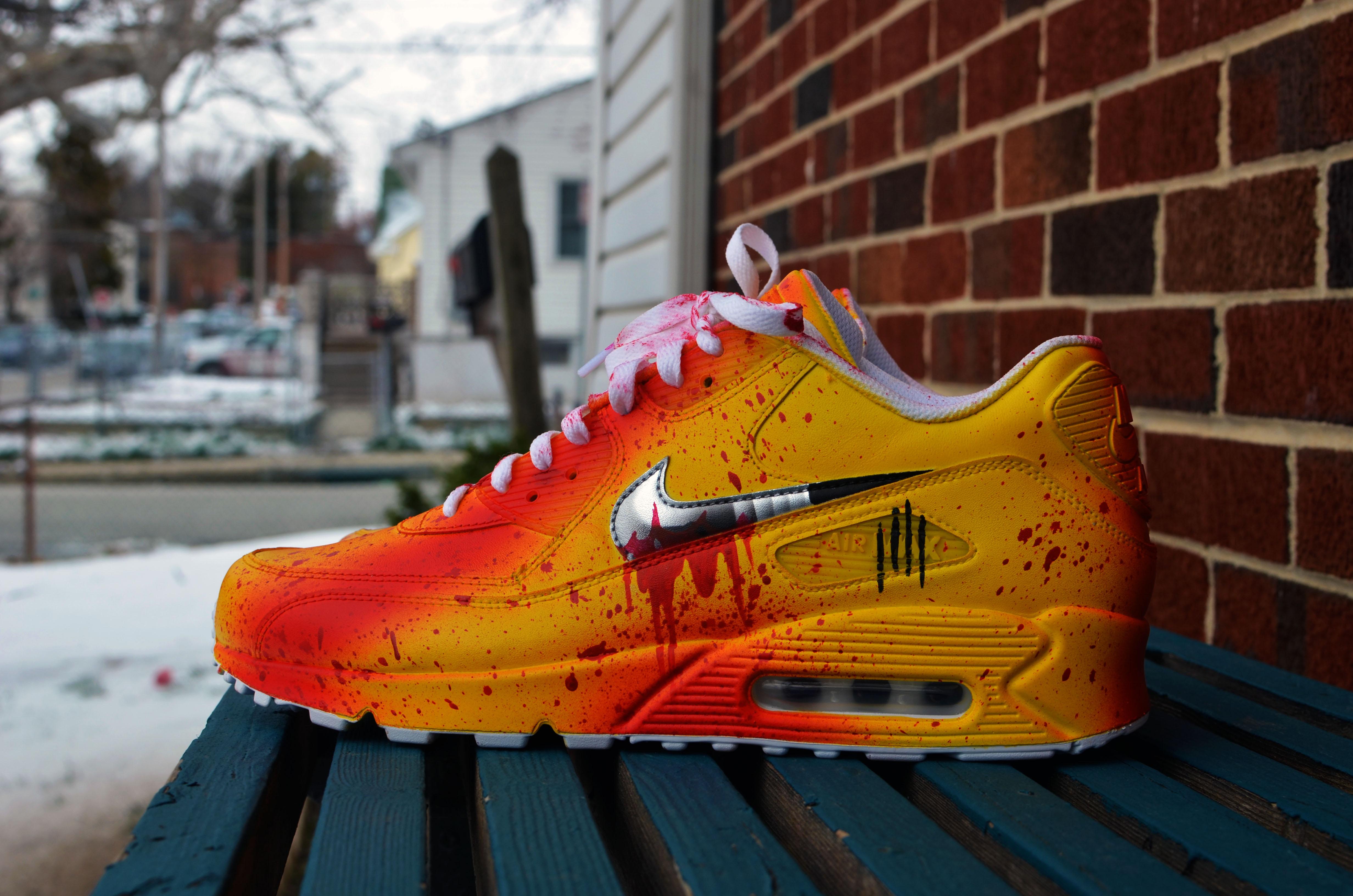 best sneakers e017c 6ae45 Nike Air Max 90 - Kill Bill DK on Storenvy
