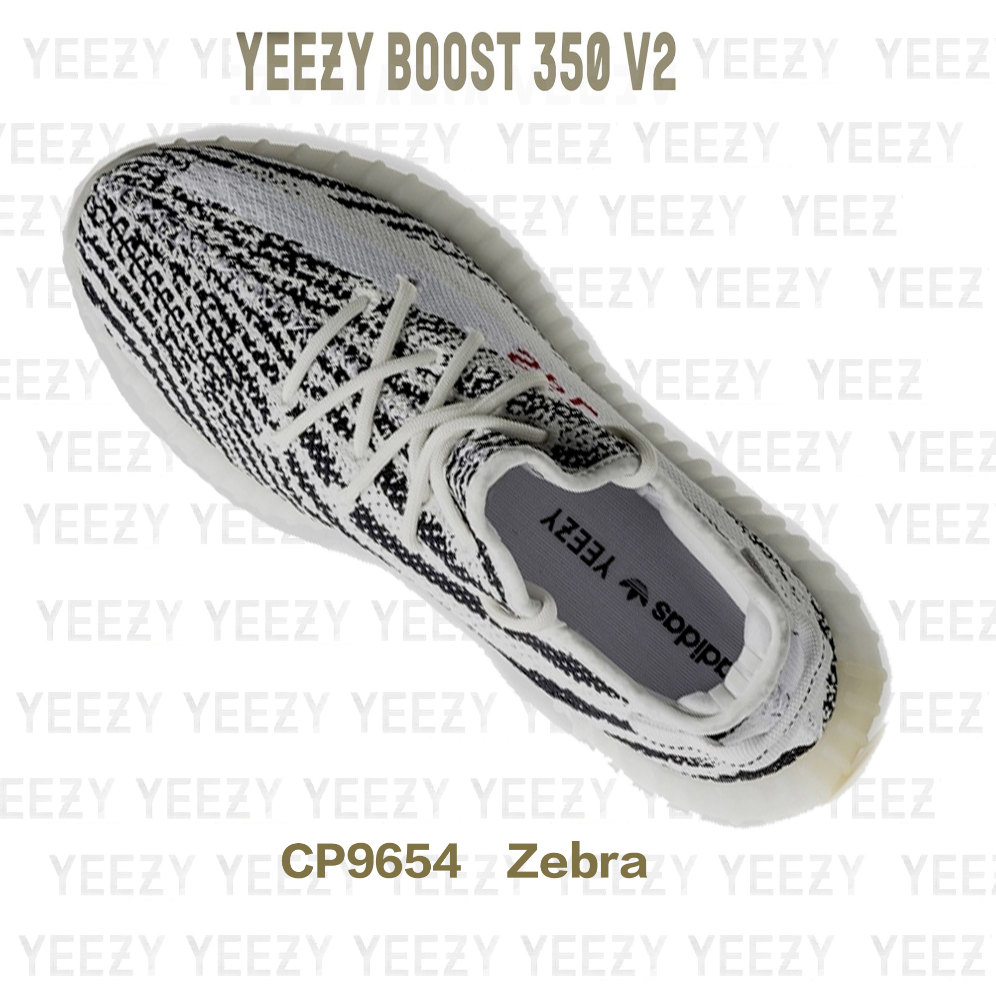 37ca51c1a292 mens yeezy boost 350 v2 zebrawhite core black red cp9654 on storenvy ...
