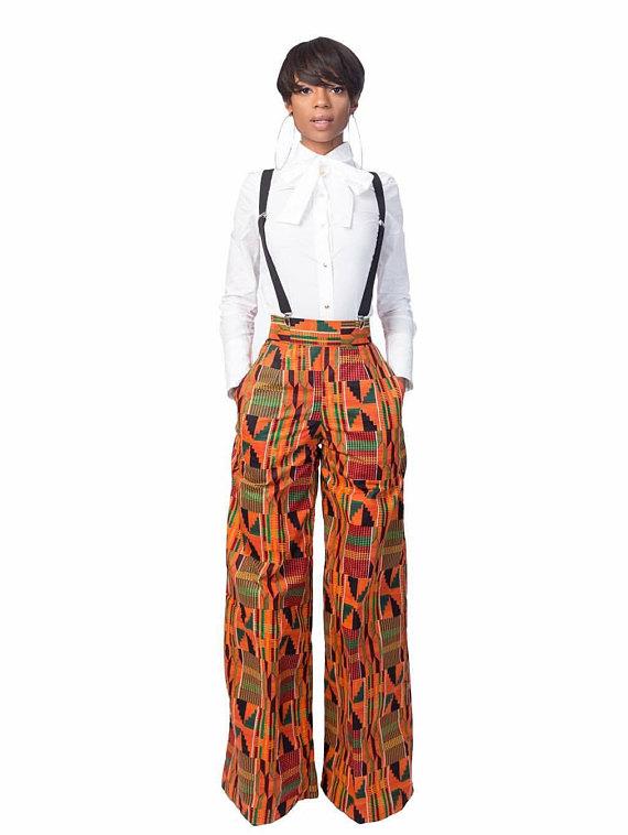 941c416432 Tisha- Kente Pants on Storenvy