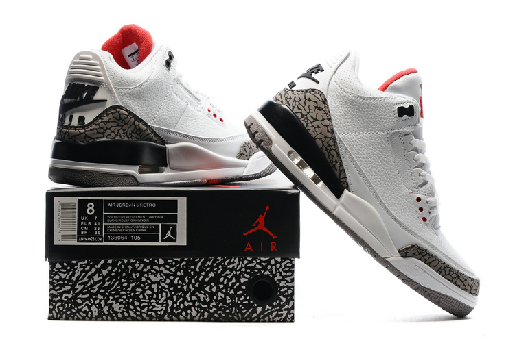 new concept 9ac29 3f67a Newest Nike Air Jordan 3 Shoes Fashion Nike Air Jordan Retro 3 Shoes Nike  Jordan Basketball Shoes On Sale sold by Sports4NBA