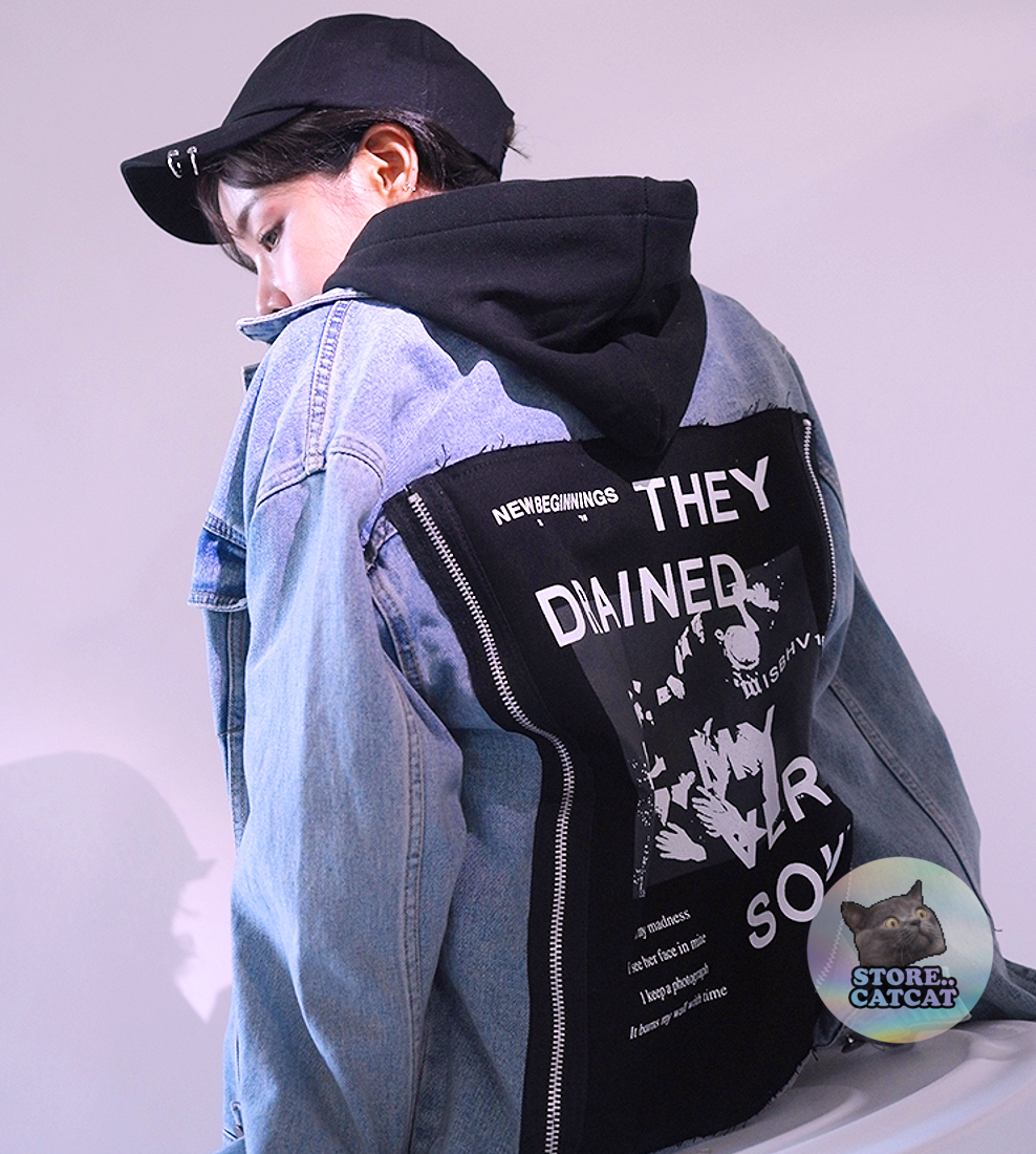 2d589fa971c6f VINTAGE THEY DRAINED MY VERY SOUL JACKET on Storenvy
