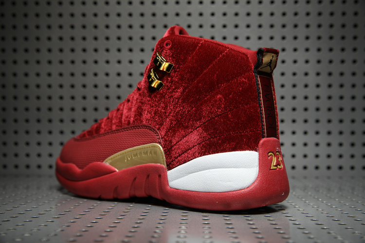 f7fe907d117 Nike 20air 20jordan 2012 20wine 20red 20gold 20velvet 20shoes 20nike 20air  20jordan 20retro 2012 20shoes 20men
