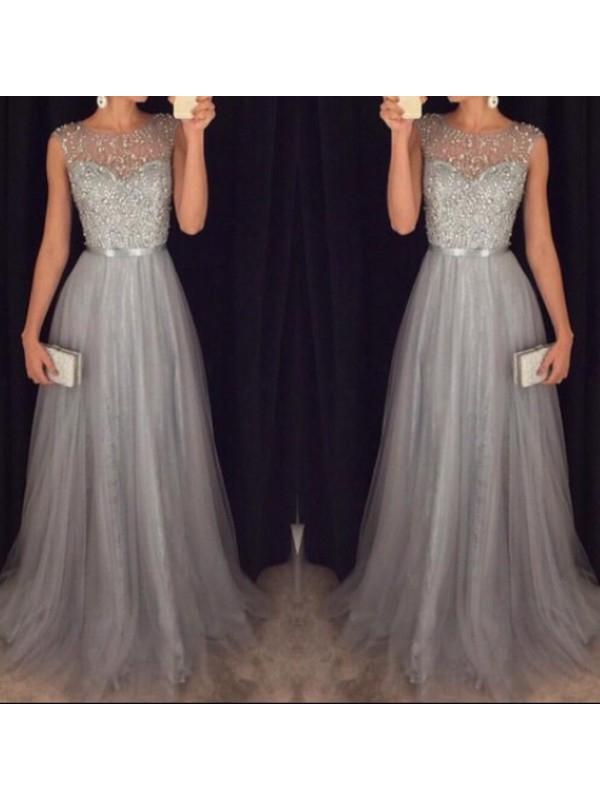 Simple Grey Dresses