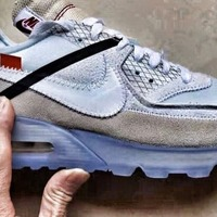 1bc1bfd15b ... OFF WHITE X NIKE AIR MAX 90 ICE Style Code: AA7293-100 - Thumbnail ...