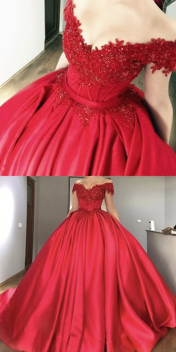 Prom Dresses 2018 Ball Gown