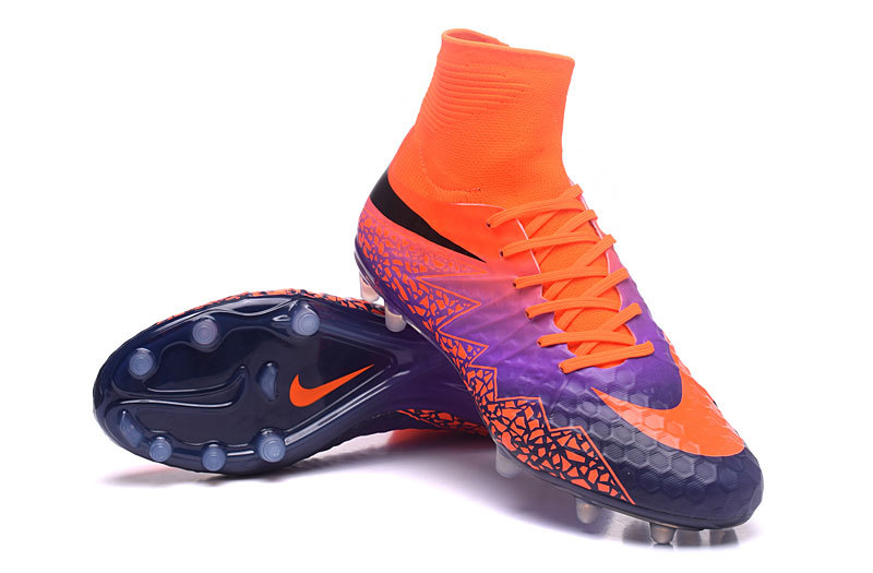 reputable site 4ed26 a252f Cheap 20nike 20cleats 20nike 20hypervenom 20phantom 20ii 20fg 20purple  20orange 628 original