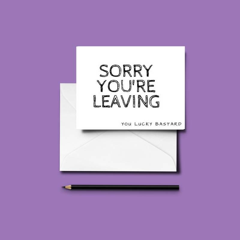 Funny leavingnew job card friends colleagues fun humour zxconnkj7t9vfobqesfc original m4hsunfo