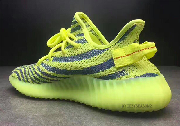 ADIDAS YEEZY BOOST 350 V2 Color  Semi-Frozen Yellow Raw Steel Red ... d837e38b0