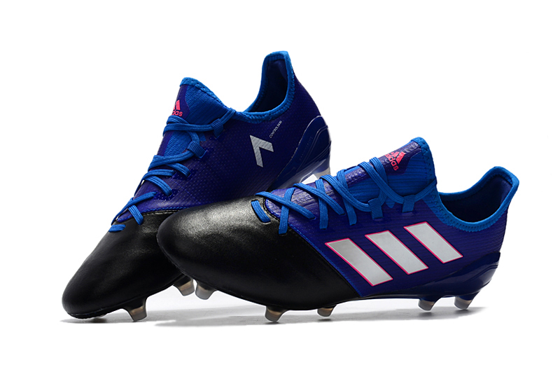 first rate 3f7f9 c54f7 Adidas Cleats adidas ACE 17.1 Leather FG Blue White Black sold by  cleatssale4A