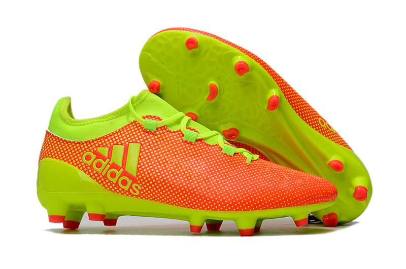 pretty nice e78e0 c60d4 Adidas Cleats Adidas X17.1 FG Orange Green sold by cleatssale4A