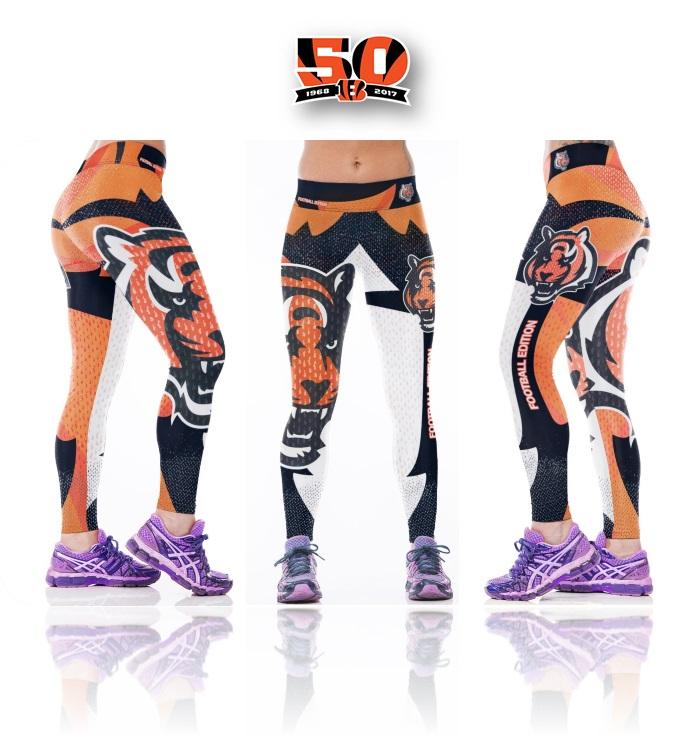 New Cincinnati Bengals NFL Women Leggings Fitness Sports Gym on Storenvy