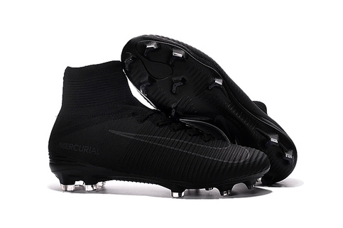 watch 5d47d 269f4 Nike Flyknit Mercurial Superfly Soccer All Black on Storenvy