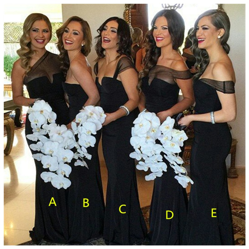 1b41fb4ceafa font b sexy b font sheath font b black b font cheap font b bridesmaid  original
