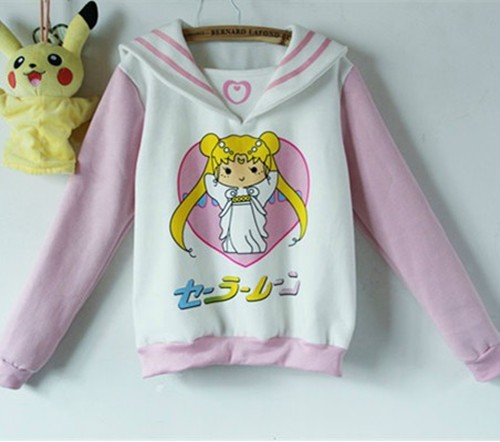 talla 40 d8be3 dc90c Sudadera Sailor Moon Sweatshirt WH040 sold by Aesthetics Shop