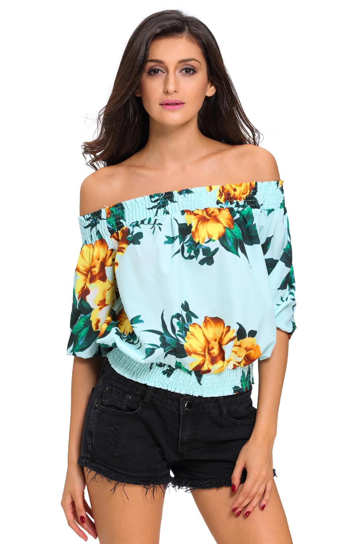 0269667732f Womens Tshirt Summer Tee Shirt Cold Shoulder Tops T-Shirt Women ...