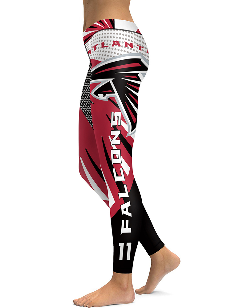 9f5eea344f8ae ... Atlanta Falcons NFL High Quality Sports Leggings - Thumbnail ...
