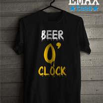 Beer o /'clock-T-Shirtalcool pub drôle Design Party