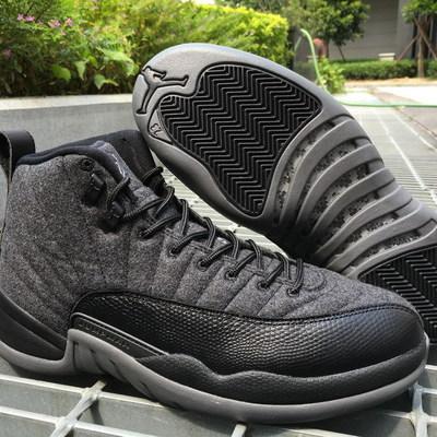 """9f3b83252a2 Nike air jordan 12 """"wool"""" shoes nike air jordan retro 12 wool shoes nike"""