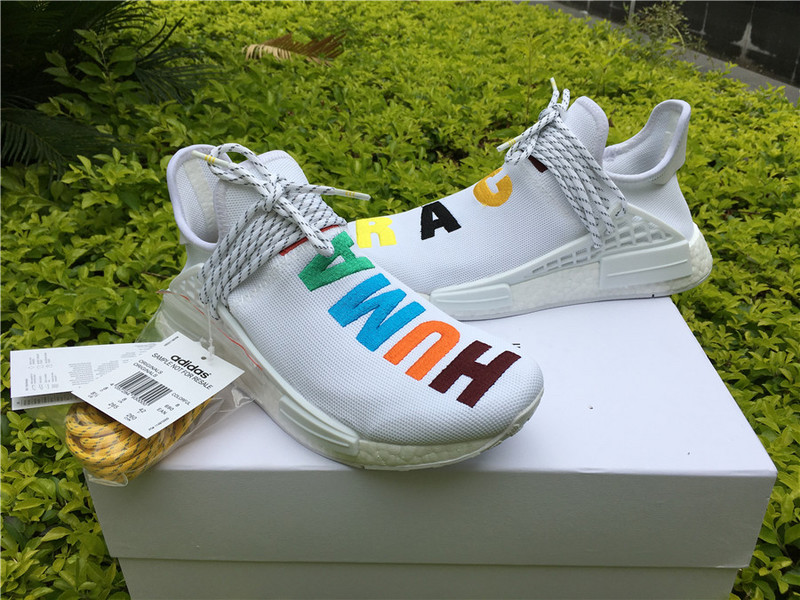 58d752aaeef Fashion adidas NMD Human race white shoes on Storenvy