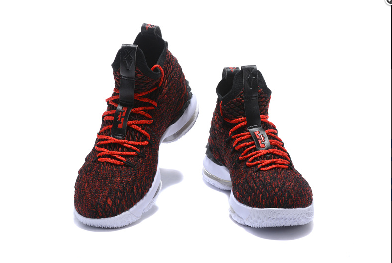 the latest 1456c 42d16 Cheap Nike LeBron 15 Multi-Color Black White University Red