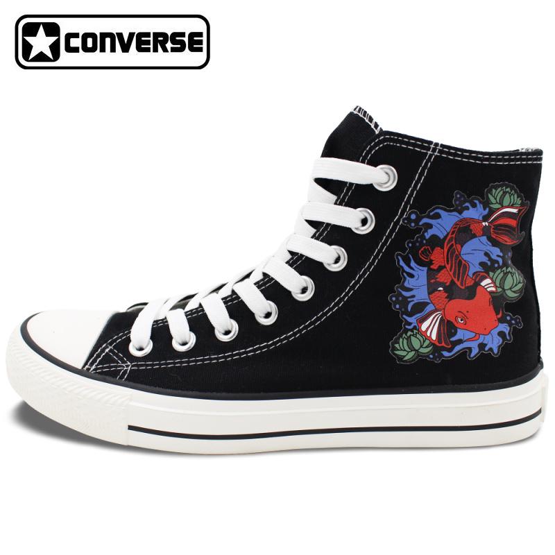 Design Fish Canvas Shoes Fancy Carp Koi