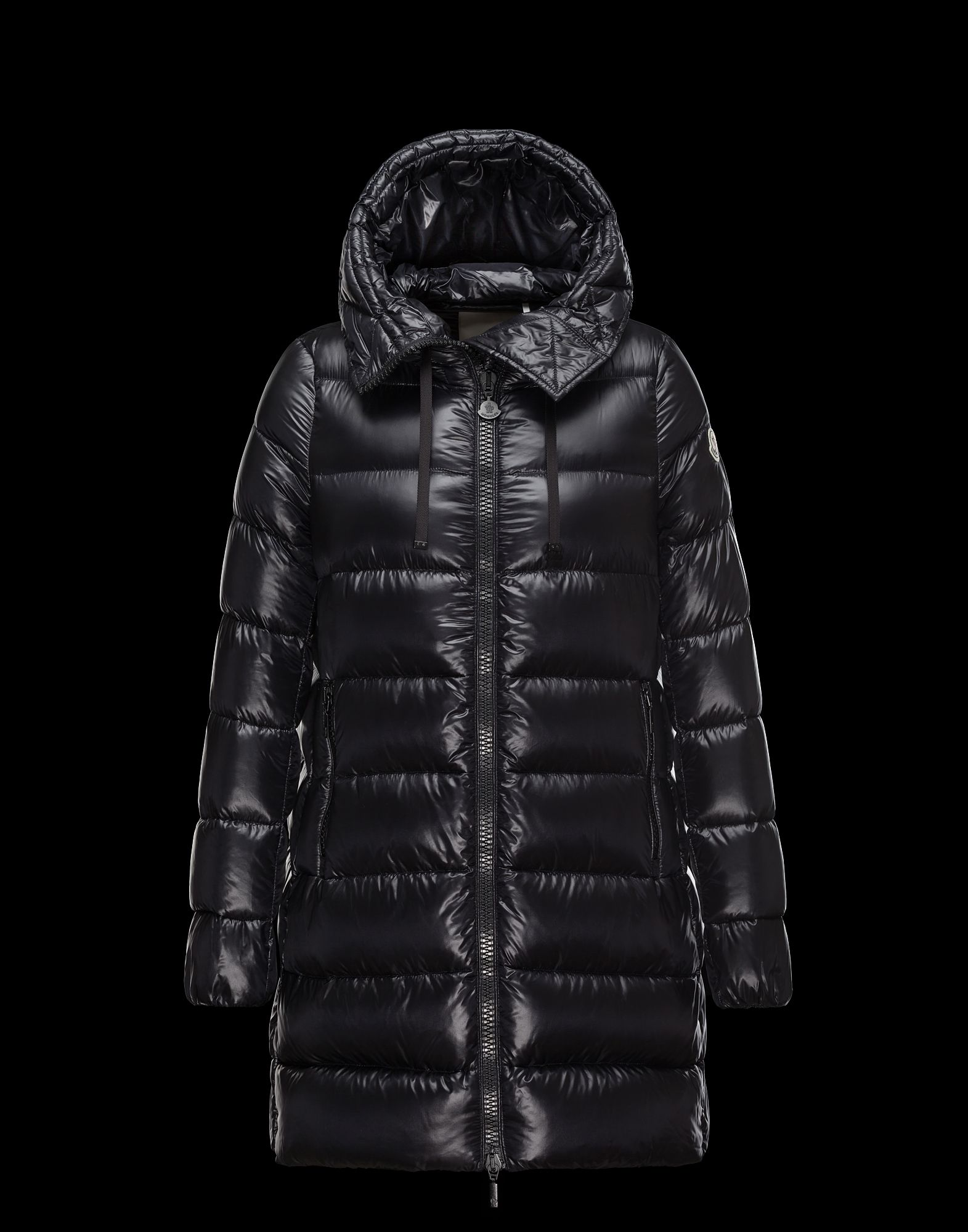 moncler suyen jacket black