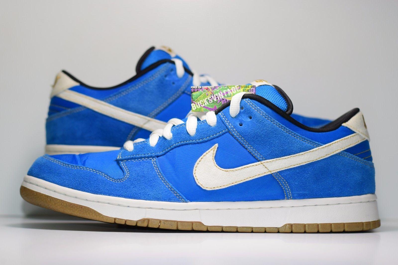 sports shoes d3ce0 8602a Size 13 | 2010 Nike Dunk SB CHUN LI Streetfighter argon blue/white 304292  405 from BucksVintage