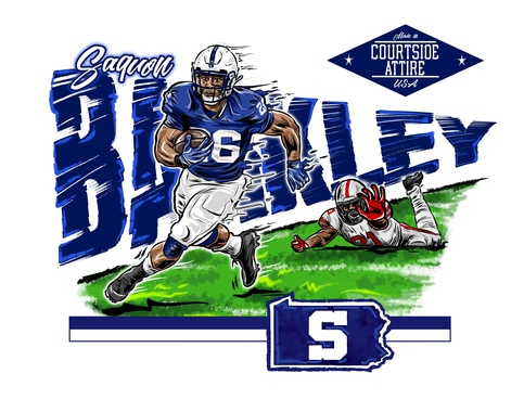 brand new 2e13f 4c717 Kids Saquon Barkley Penn State Shirt Youth sold by Courtside Attire