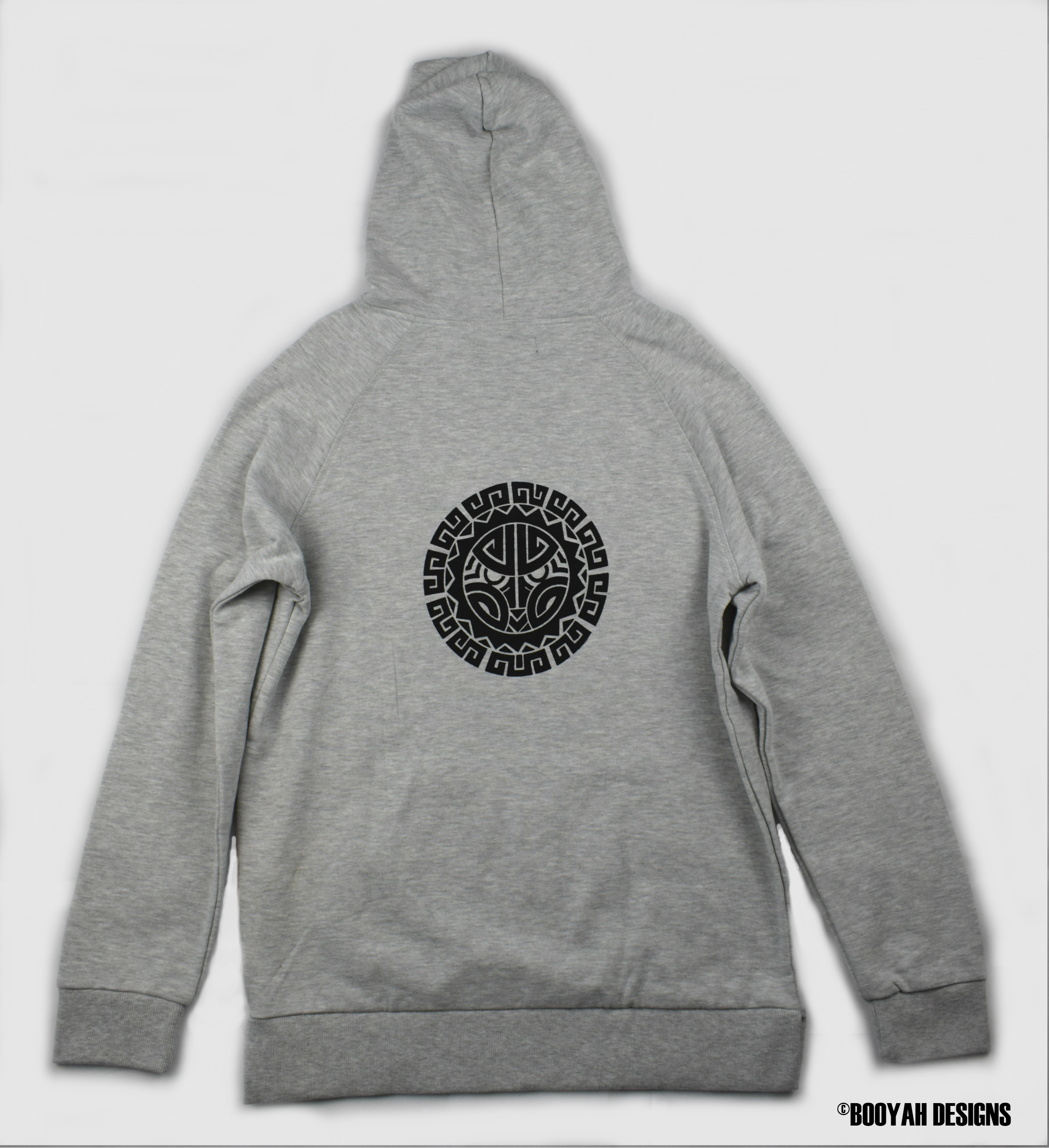dd8e1d91a13 Limited Edition Booyah Designs Grey Hoodie on Storenvy