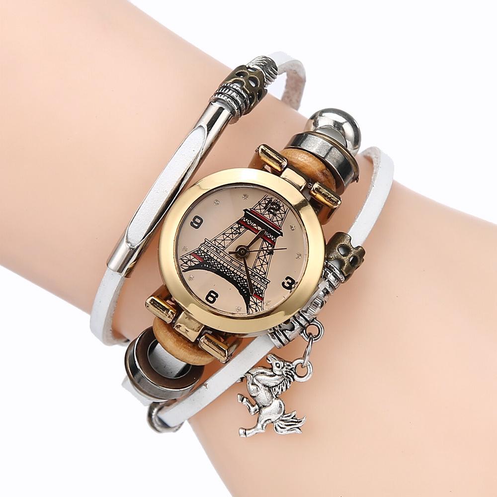 7549827cfdc Free shipping Wrist Watch Bracelet Watch Infinity Bracelet Karma ...