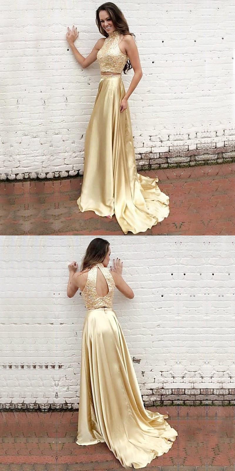 Modern Long Prom Dress