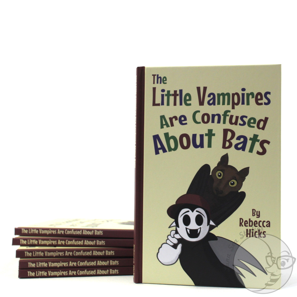 The Little Vampires Are Confused About Bats from Luna Sea Studios Store