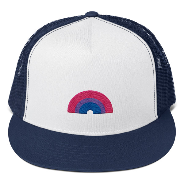 f8cacb22741fb Bisexual Rainbow Trucker Cap · Raph s Hats · Online Store Powered by ...